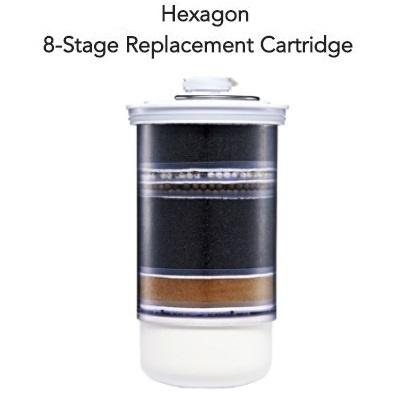 Hexagon 8-Stage Water Purifier Replacement Cartridge